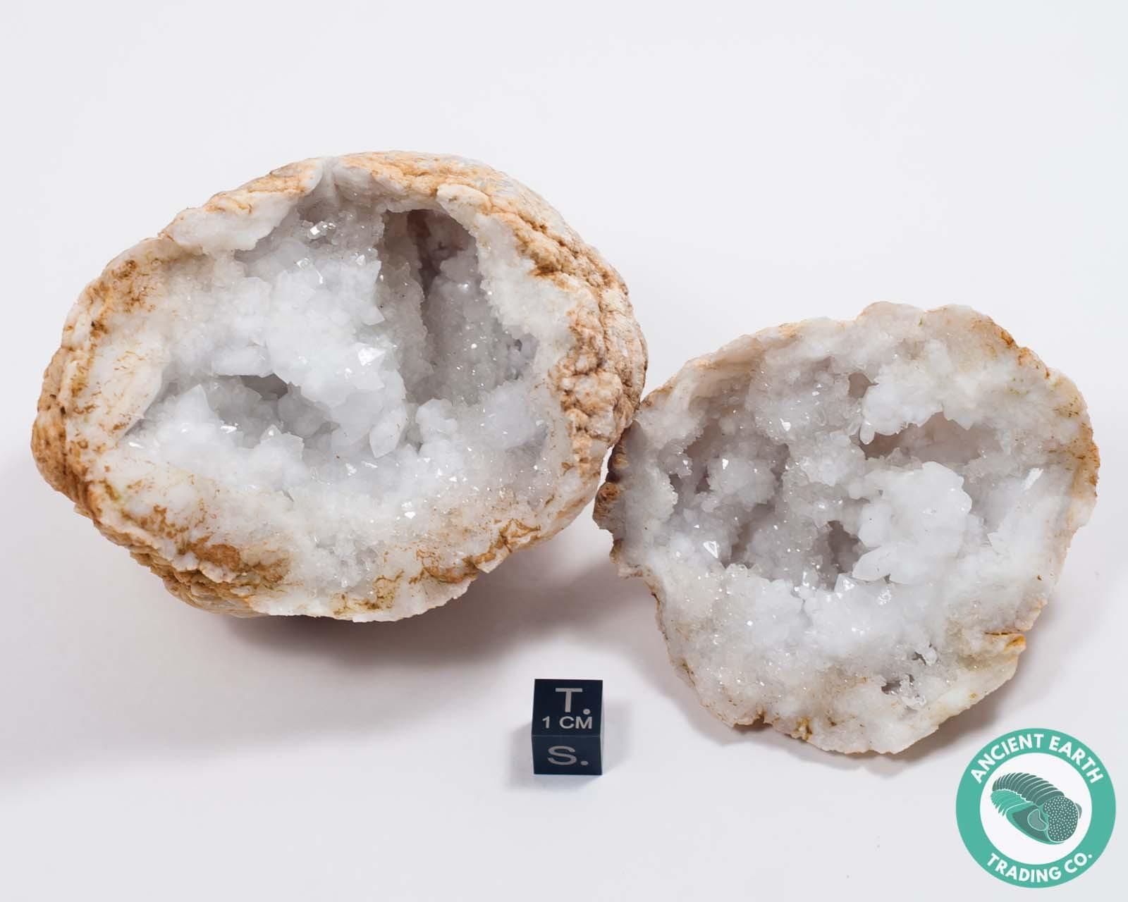 """3-4"""" Sugar Quartz Crystal Geode - Morocco"""