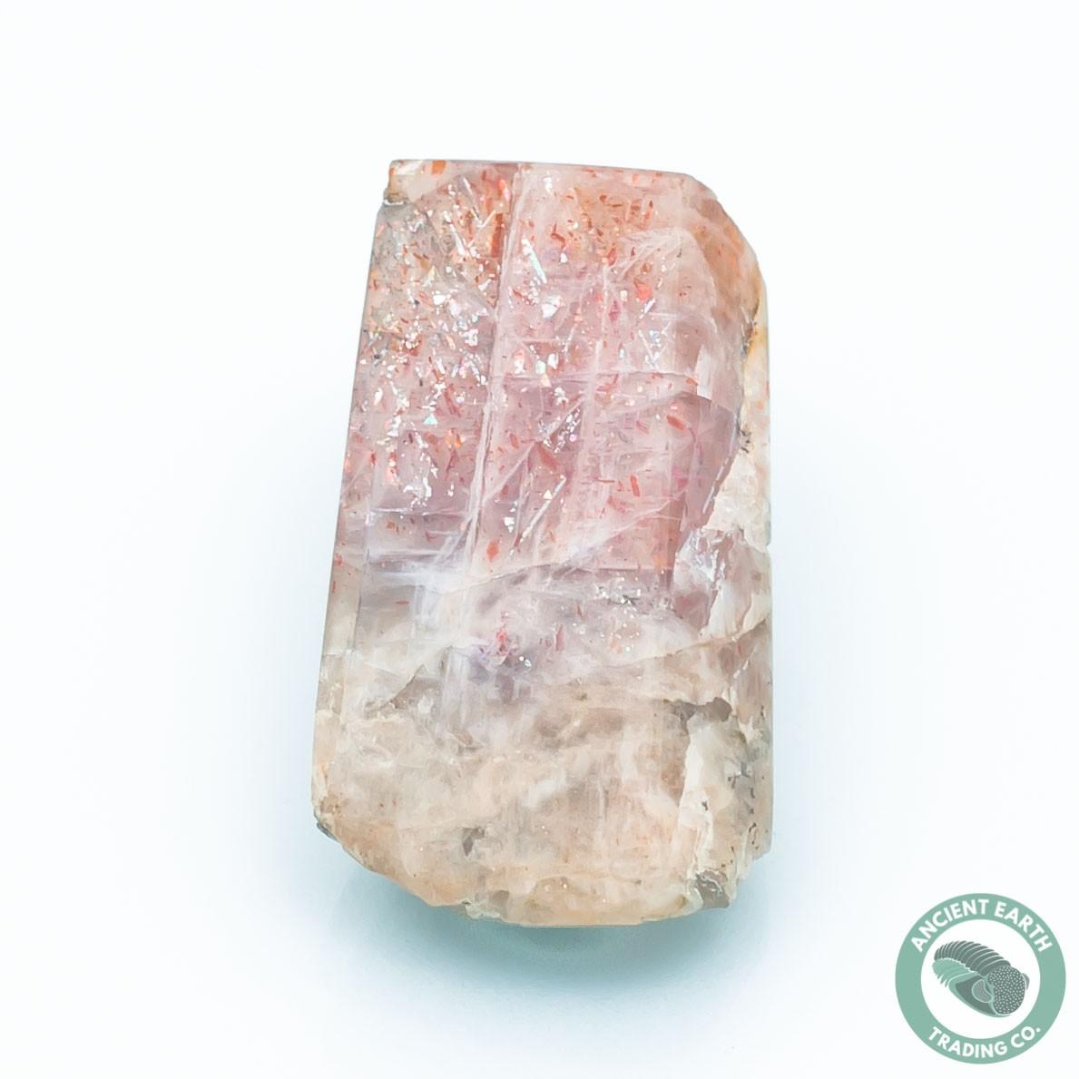 41.9 carat Rainbow Lattice Sunstone - Australia