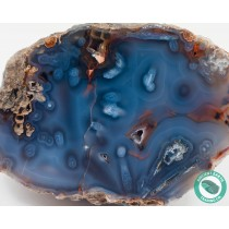 4.57 in Red + Blue Turkish Stick Agate Thunderegg