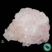 5.75 in Pink Halite Crystals - Trona, California