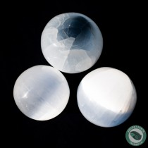 Selenite Sphere 5 cm. 2 in.