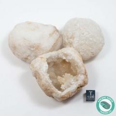 """2"""" Unbroken Sugar Quartz Crystal Geode - Morocco"""