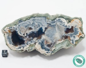 6.34 in Large Quartz + Agate Geode Thunderegg HWY 46 - California