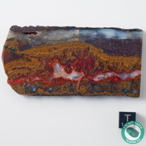 3.46 in Sagenite Red Vein Agate - Morocco