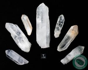 Large Rough Quartz Crystals 8 Ounce Bag