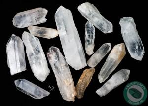 Large Rough Quartz Crystals 16 Ounce Bag