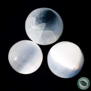 Selenite Sphere 5 cm. 2 in.
